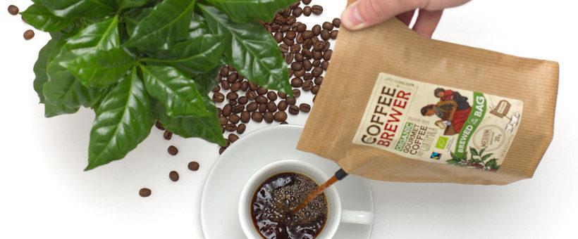 Kaffebryggeren med logo