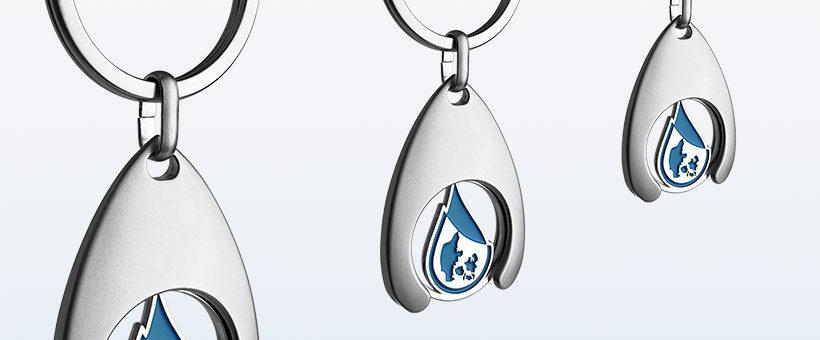 Vognmønt med logo