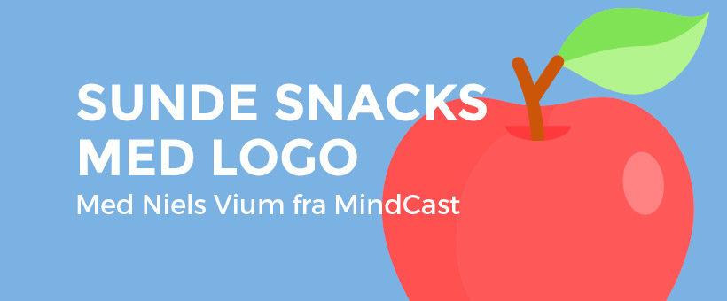 Sunde Snacks med logo - til branding og messe - med Niels Vium