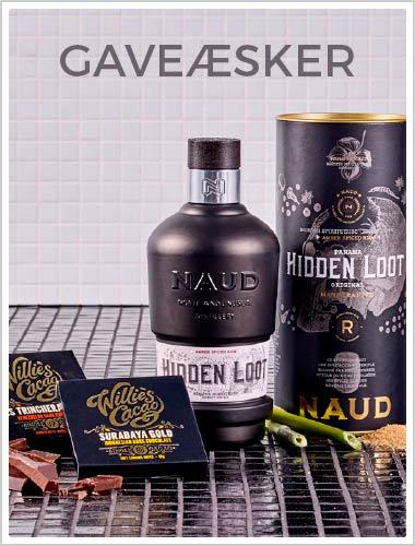 Gavekasser - vin, øl, chokolade, gin