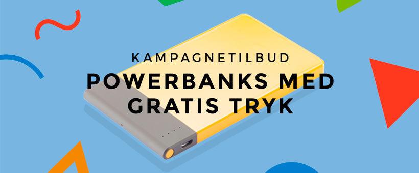 Kampagnetilbud på powerbanks