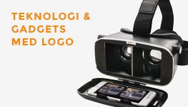 Teknologi & Gadgets med logo
