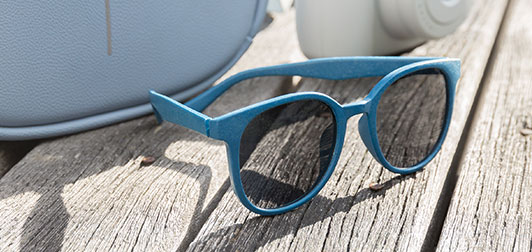Solbriller af hvedestrå