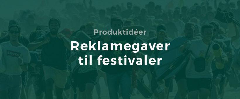 Firmagaver til festivaler