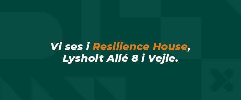 Vejlekontoret flytter til Resilience House