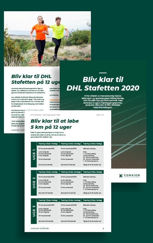 Bliv klar til DHL Stafetten 2020